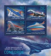 Central African Republic - MNH - Transports - Concorde - 2013 - Transports