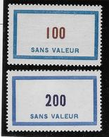 France Fictif N°125/126 - Neuf * Avec Charnière - TB - Finti