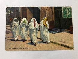 EGYPT - ALEXANDRIA - JEUNES FILLES ARABES  - 1914 - Alexandrie