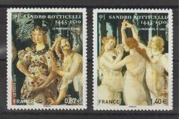 France 2010 Tableau Botticelli 492 Et 509 2 Val. Neuves ** MNH - Francia