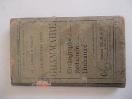 LA DEUXIEME ANNEE DE GRAMMAIRE (ORTHOGRAPHE, REDACTION, LITTERATURE) Par LARIVE & FLEURY - Books, Magazines, Comics