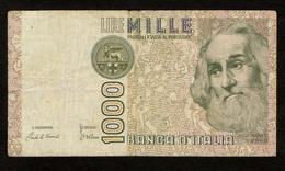 """Italië / 1000 Lire / MILLE LIRE : 1982 / """"Marco Polo"""" / Numéro : ID 338150 Q / 2 Scans - 1000 Lire"""