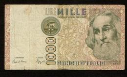"""Italië / 1000 Lire / MILLE LIRE : 1982 / """"Marco Polo"""" / Numéro : LE 095317 N / 2 Scans - 1000 Lire"""