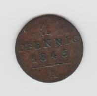 1 PFENNIG WALDECK-PYRMONT 1845 AROLSEN - [ 1] …-1871 : German States