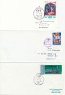 RUSSLAND / UdSSR -  ANTARKTIKA  -  16 Belege  Mit Antarktis-Bezug  - Auktion - Non Classés