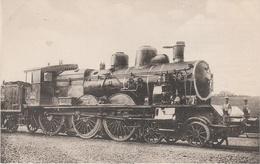 AK Les Locomotives Francaises Sud Est Ex P L M 593 Locomotive Machine No 230 B 3 Ex 2603 Chemin De Fer Train - Sonstige