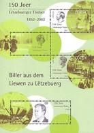 Luxembourg  -  Briefmarken  2002  150 Joer Letzebuerger Timber - Blocks & Sheetlets & Panes