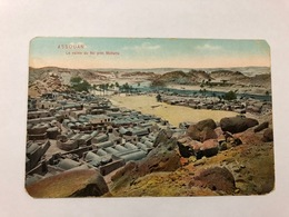 EGYPT - ASSOUAN - LE VAILLE DU NIL PRES MOHATTA - 1948 - Assouan