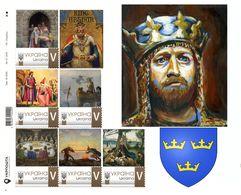 Ukraine 2020, England History, King Arthur, Sheеtlet Of 6v - Ukraine