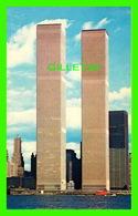 NEW YORK CITY, NY - WORLD TRADE CENTER - MANHATTAN POST CARD INC - - World Trade Center