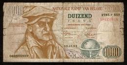 België / Belgique / Nationale Ramp Van België / Duizend Frank / 1963 / 069605859 / PVV / Partij Voor Vrijheid / 2 Scans - [ 2] 1831-...: Belg. Königreich