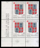 S.M.O.M. (Sovrano Ordine Di Malta) - Stemmi Dei Gran Maestri Di Rodi 1171/1192 - 10 Grani / G. De Naplous - 1979 - Malte (Ordre De)