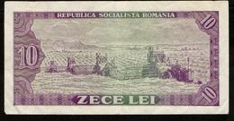 Romania / Roemenië / Zece Lei / 10 Lei / 1966 / Republica Socialista Romania / E.0288 / 269020 / 2 Scans - Romania