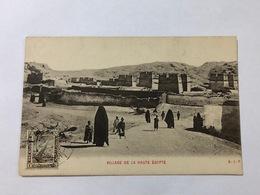 EGYPT - VILLAGE DE LA HAUTE EGYPT - 1920 - Egypte