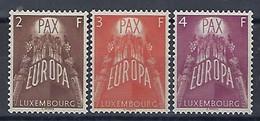 Luxembourg  -  Briefmarken 1957 Europa  KW 120 - Blocs & Feuillets