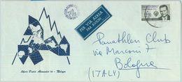 84296 - MEXICO - POSTAL HISTORY -  COVER To ITALY 1963 - CLIMBING Mountaineering - Mexiko