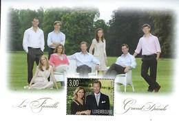 Luxembourg  -  Briefmarken 2010 La Famille Grand-Ducale  KW 7,50 - Blocs & Feuillets