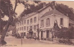 24 - Les EYZIES - Hôtel De Cro-Magnon. Facturette De Restaurant Sur Carte Postale. - Frankreich