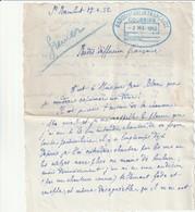 Lettre Du 27 Avril 1952 - Cachet De Réception RADIODIFFUSION FRANCAISE Du 2 Mai 1952 - Seals Of Generality