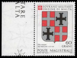S.M.O.M. (Sovrano Ordine Di Malta) - Stemmi Dei Gran Maestri Di Rodi 1171/1192 - 60 Grani / R. Des Moulinis - 1979 - Malte (Ordre De)