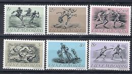 Luxembourg  -  Briefmarken -  1952   Postfrisch ** MNH  KW 50,00 - Blocs & Feuillets