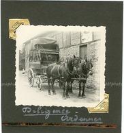 Diligence Ardennes. Tirage Original D'époque. C 1935 FG1324 - Lieux