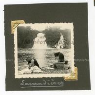 Lavandières à Coo Tirage Original D'époque. C 1935 FG1325 - Lieux