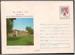 Romania/Roumanie: Intero, Stationery, Entier, Albergo, Hotel, Hôtel - Hotel- & Gaststättengewerbe