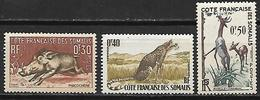 French Somali Coast 1958 Fauna   MNH - Somalia (1960-...)