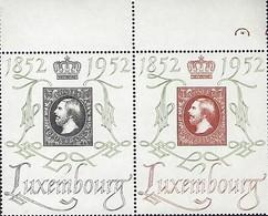 Luxembourg  -  Briefmarken -  1952   Postfrisch ** MNH  KW  150,00 - Blocs & Feuillets
