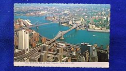 View From The Top Of Twin Towers New York City USA - Multi-vues, Vues Panoramiques