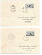 SH 0515. PA 29 (3) S/3 Lettres HELIPOST 1955 / 1956 Respectivement HASSELT - BERINGEN - HERENTHALS. TB - Storia Postale