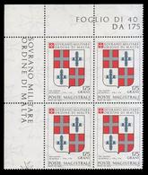 S.M.O.M. (Sovrano Ordine Di Malta) - Stemmi Dei Gran Maestri Di Rodi 1171/1192 - 1,75 Grani / G. De Murols - 1979 - Malte (Ordre De)
