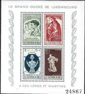 Luxembourg  -  Briefmarken -  1945   Postfrisch ** MNH  KW  35,00 - Blocs & Feuillets
