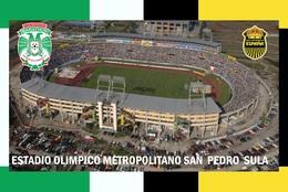 CP. STADE.  SAN  PEDRO  SULA   HONDURAS ESTADIO OLIMPICO METROPOLITANO # CS. 770 - Football