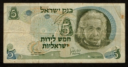 Israël / ISRAEL / 5 Lirot / 1968 / Albert Einstein / 15760741 1/7 - Israel