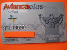 """Carte Frequence Air France """"point Miles"""" Ou Luftansa - Credit Cards (Exp. Date Min. 10 Years)"""