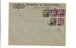 Brief Aus Berlin Nach Apolda 1923 - Deutschland