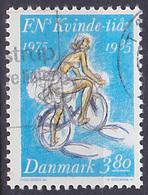 Timbre Oblitéré N° 848(Yvert) Danemark 1985 - Décennie Pour La Femme - Dänemark