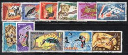Q309 - NIGERIA 1965 , Ordinaria : 11 Valori Usati (2380A) - Nigeria (1961-...)