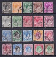 MALAYA PENANG 1949, SG# 3-22, CV £55, George VI, Used - Penang