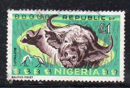 T847 - NIGERIA 1965 , Ordinaria : La Sterlina Yvert N. 190  Usata (2380A) - Nigeria (1961-...)