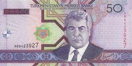 TURKMENISTAN 50 MANAT 2005 UNC P 17 - Turkmenistan