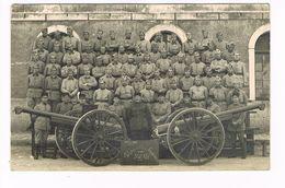 Cpa. Photo Groupe De Militaires.Elèves Brigadiers .302 RA?   (cdv-049) - Personnages