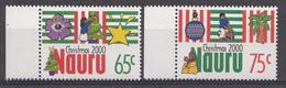 Nauru 2000  Mi.nr: 503-504 Weihnachten  NEUF SANS CHARNIERE / MNH / POSTFRIS - Nauru