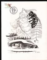 1980, Apiculture, Abeille, Gravure: Huguette Sainson - Otros