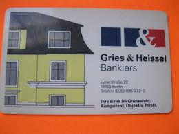 Carte Bank Allemande ? - Cartes De Crédit (expiration Min. 10 Ans)