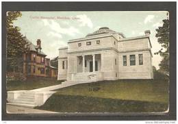 US Vintage Post Card 1908 Curtis Memorial ,Meriden - New Haven