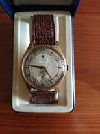 OROLOGIO DA UOMO SVIZZERO HORUS ORO 18K ANNI '50-'60 - Horloge: Antiek