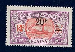 SPM MIQUELON YT 128 NEUF** TB - St.Pedro Y Miquelon